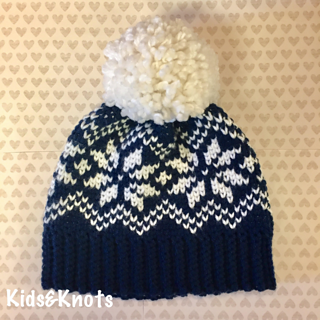 Ravelry  Snowflake Knit Look Hat pattern by Kelsey Daughtry 16229042f49