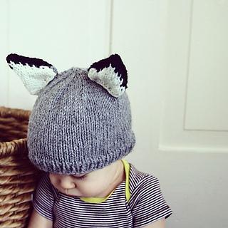 Ravelry  Knit Baby Wolf Hat pattern by Lavanya Patricella 76784816551