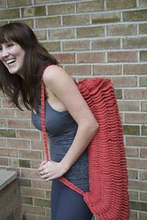 Ravelry Om Shanti Yoga Mat Bag Pattern By Abigail Haze