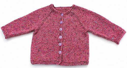 Ravelry Basic Top Down Child S Cardigan Dk Weight Pattern