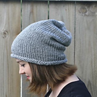 Ravelry  Simple Slouch Hat pattern by Robyn Devine 89252fa59ec