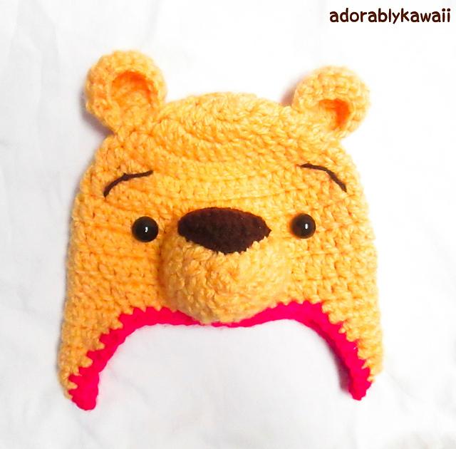 Ravelry Winnie The Pooh Hat Pattern By Amanda Maciel