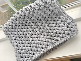Ravelry Giant Puff Stitch Baby Blanket Pattern By Ally Frazier