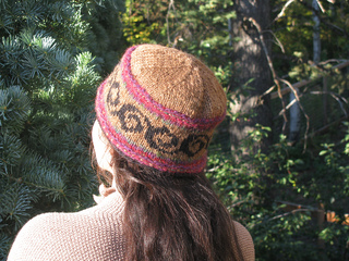 75d7a2227fc Ravelry  Curly Yurt Hat pattern by Anne Carroll Gilmour
