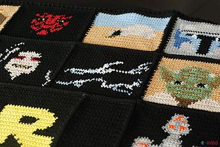 Ravelry star wars blanket pattern by ahooka migurumi ahooka publicscrutiny Gallery