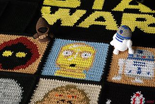 Ravelry Star Wars Blanket Pattern By Ahooka Migurumi