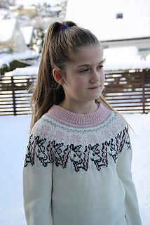 Ravelry Unicorn Sweater Pattern By Yvonne B Thorsen