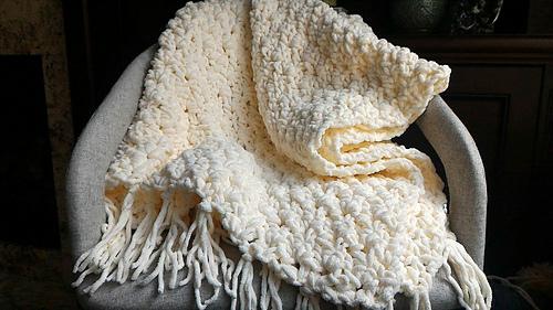 Ravelry Chunky Crochet Throw Pattern By Alison Lobianco