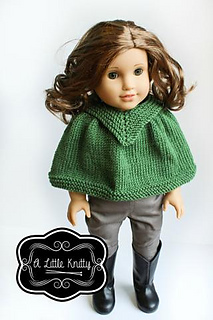 67ac1a6f2 Ravelry  Kristin Cape pattern by A Little Knitty Designs
