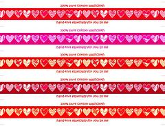 Hand-knit-heartstrips-5multireds-10