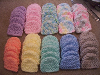 e265cf8cfa2c6 Ravelry: 1lb Micro-Preemie Hat pattern by Allison Booker
