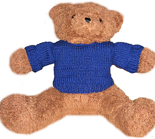 Ravelry: Brown Bears Teddy Bear Sweater pattern by Alison ...