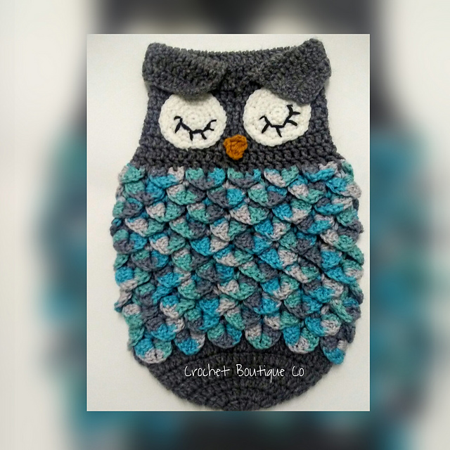 Ravelry Newborn Owl Sleep Sack Pattern By Forever Hooked By Tina