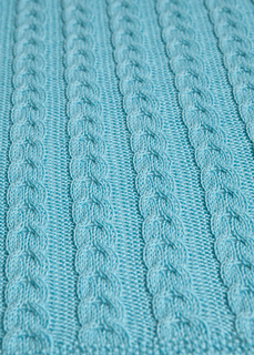 Ravelry Cable Knit Baby Blanket Pattern By Leelee Knits