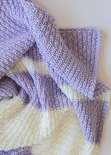 Ravelry Easy Knit Baby Blanket Pattern By Leelee Knits
