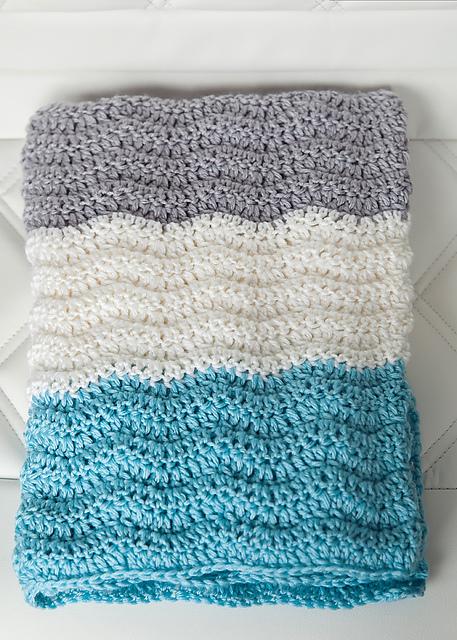 Ravelry Wavy Chevron Baby Blanket Pattern By Leelee Knits