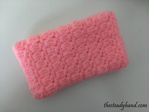Ravelry Puff Stitch Cell Phone Case Pattern By Aprile Mazey