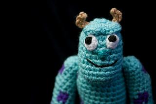 Amigurumi Monsters Inc : Amigurumi mikewazowski monsters inc smartapplecreations