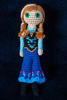 Amigurumi Anna Y Elsa : Ravelry: Anna (Frozen) Amigurumi Crochet Pattern pattern ...