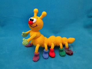 Amigurumi Caterpillar : Ravelry: caterpillar pattern by amigurumi fair