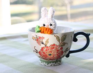 Amigurumi Food : Ravelry easter bunny amigurumi food pattern by amigurumi food