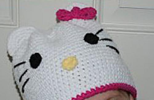 Free Hello Kitty Knit Hat Pattern Choice Image Knitting Patterns