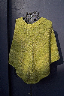 Ravelry: Instant Poncho pattern by Amy Singer