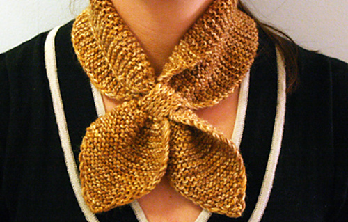Ravelry Knitted Neck Scarf Pattern By Martha Stewart Design Team