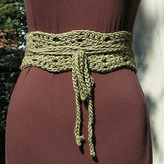Ravelry Chain Ripple Belt Pattern By Amy Oneill Houck