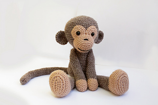 Amigurumi Monkey Patterns : Ravelry amigurumi monkey pattern pattern by anat tzach