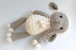 ravelry amigurumi lamb sheep pattern by anat tzach