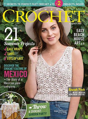 Interweave Crochet Magazine Summer 2017