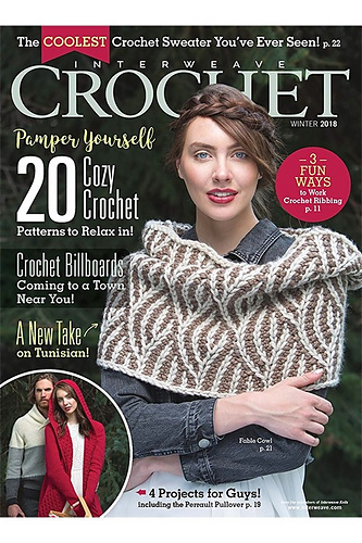 Ravelry Interweave Crochet Winter 2018 Patterns