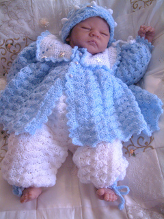 e63bbd953cf5 Ravelry  Summer Breeze..girl and boy baby matinee coats hats and ...