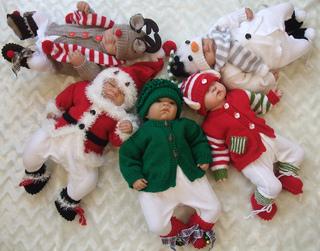 Xmas Knitting Patterns For Babies