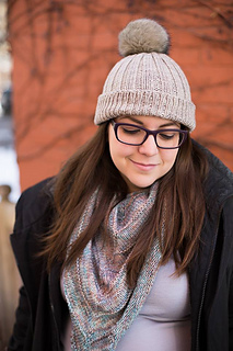 patterns   Kristen McDonnell s Ravelry Store.   Gilmore Girls Inspired Knit  Pom Pom Hat 5f16493e11c
