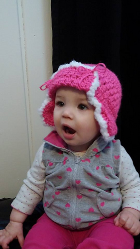 Ravelry Crochet Baby Trapper Hat Pattern By By Hook Or By Crook