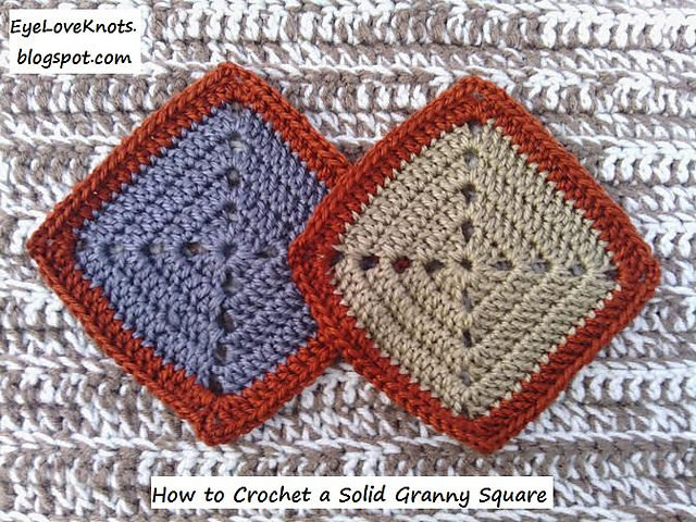 Ravelry Solid Granny Square Pattern By Alexandra Richards Elk