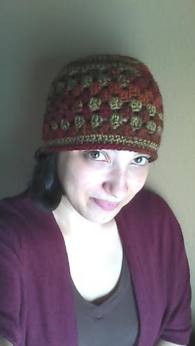 Ravelry Womens Granny Square Beanie Pattern By Alexandra Richards Elk
