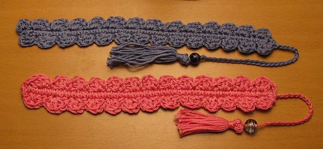 Ravelry Crocheted Shell Bookmark Pattern By Armina Parnagian Custom Crochet Bookmark Pattern