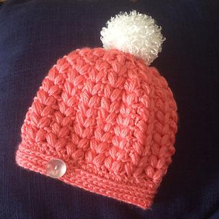 Ravelry  Pearl Puff Stitch Beanie pattern by CrochetDreamz a651d41d7eb