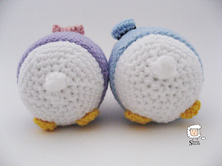 Tsum Tsum Amigurumi Pattern Free : Ravelry donald and daisy tsumtsum pattern by sheep shaved