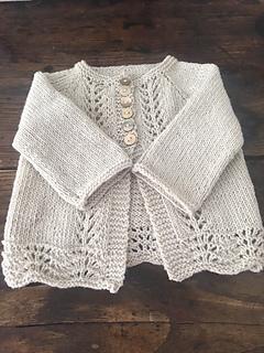 8ff016fc7345 Ravelry  Old Shale Cardigan pattern by Anne B Hanssen