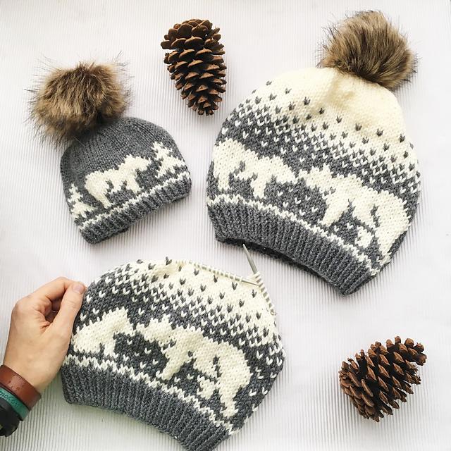 Ravelry: Kodiak Kisses Bear Hat pattern by Athena Forbes
