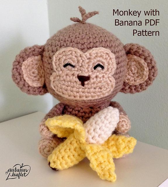 Ravelry Monkey Amigurumi Pattern By Autumn Leaflet