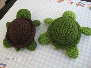 Ravelry Turt The Turtle Amigurumi Pattern By Charissa Gascho