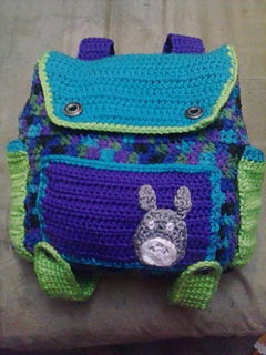 249a0f427ac Ravelry  Awesome small backpack pattern by jenny rodriguez