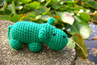 Little Amigurumi Lion : Ravelry little amigurumi hippo pattern by lion brand yarn