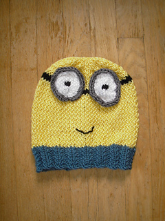 Ravelry: Minion Hat and Toy pattern by Beth A Ferwerda