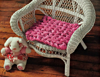 Ravelry I Cord Bench Seat Cushions Pattern By Becca Smith